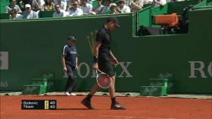 Thiem montre la porte à Djokovic