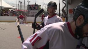 Alex Burrows : « Je veux voir le hockey-balle aux Jeux olympiques »