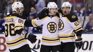 Les Bruins n'ont besoin que de 28 secondes!