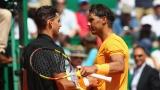 Dominic Thiem et Rafael Nadal