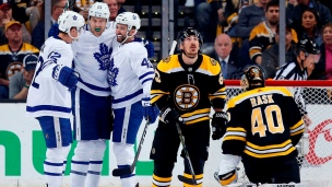 Maple Leafs 4 - Bruins 3