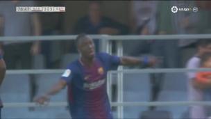 Ballou marque avec l'équipe B du Barça