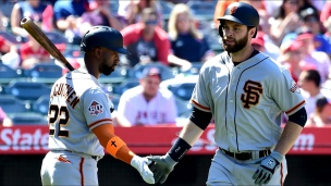 Giants 4 - Angels 2