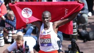 Kipchoge remporte le marathon de Londres