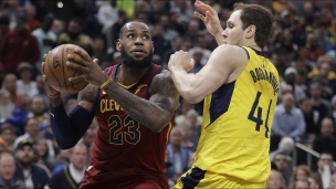 Cavaliers 104 - Pacers 100