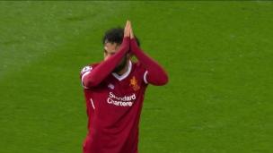 Une frappe parfaite de Salah