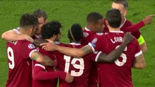 Salah double la mise avant la mi-temps