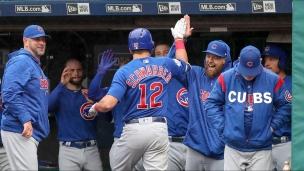 Cubs 10 - Indians 3