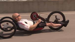 Para-cyclisme : l'histoire inspirante de Charles Moreau
