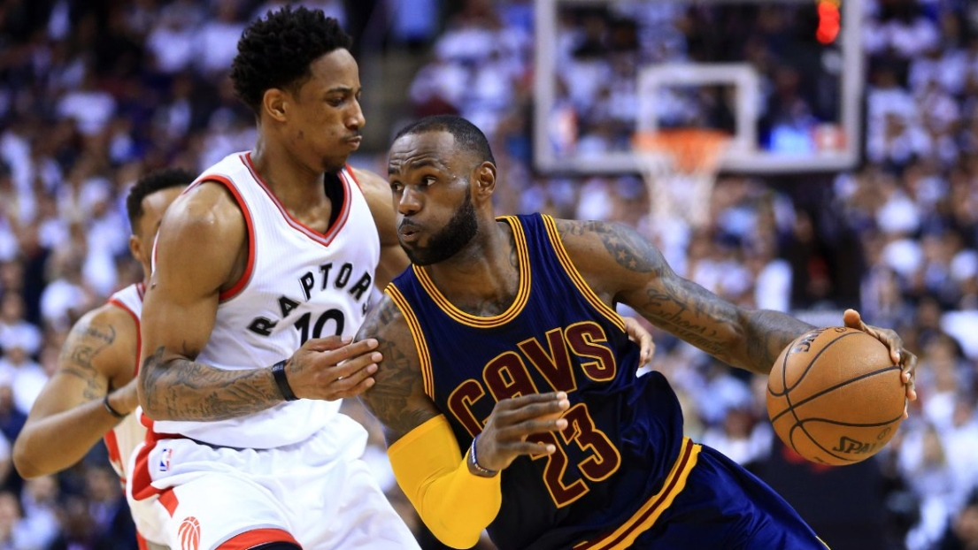 DeMar DeRozan et LeBron James