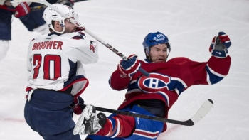 En son et images : Capitals-Canadiens
