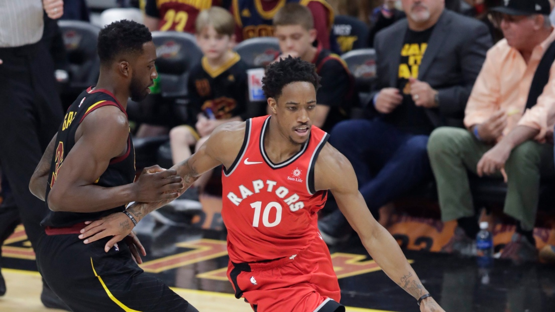 Jeff Green et DeMar DeRozan