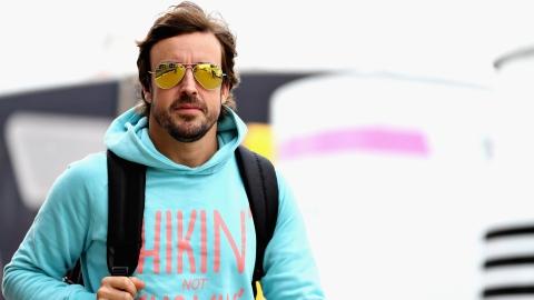 Fernando Alonso au Maroc avant le Dakar