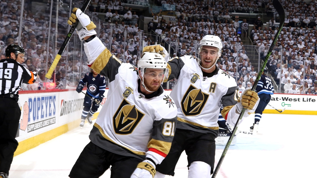 Jonathan Marchessault et Reilly Smith