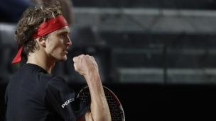 Zverev rejoint Nadal en finale