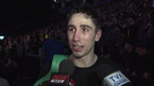 Zewski : « Ça été un combat très technique de ma part »