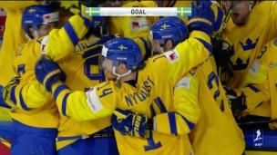 La Suède profite de l'attaque massive