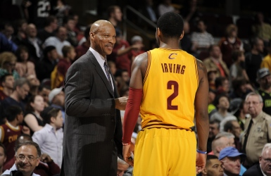Byron Scott � la barre des Lakers