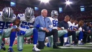 Genou au sol, un règlement dans la NFL