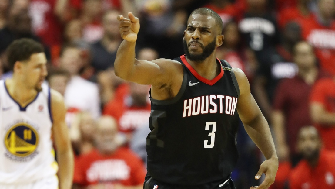 Chris Paul manquera aux Rockets lors du 6e match — NBA