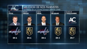 Capitals ou Golden Knights?