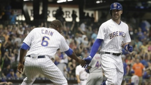 Mets 3 - Brewers 4 (10 manches)
