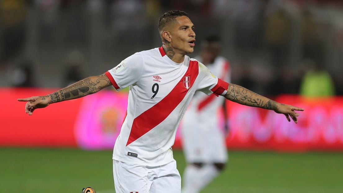Guerrero pourra finalement jouer en Russie avec le Pérou