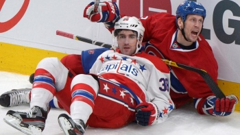 En son et images : Capitals - Canadiens