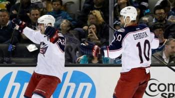 Blue Jackets 4 - Sharks 3