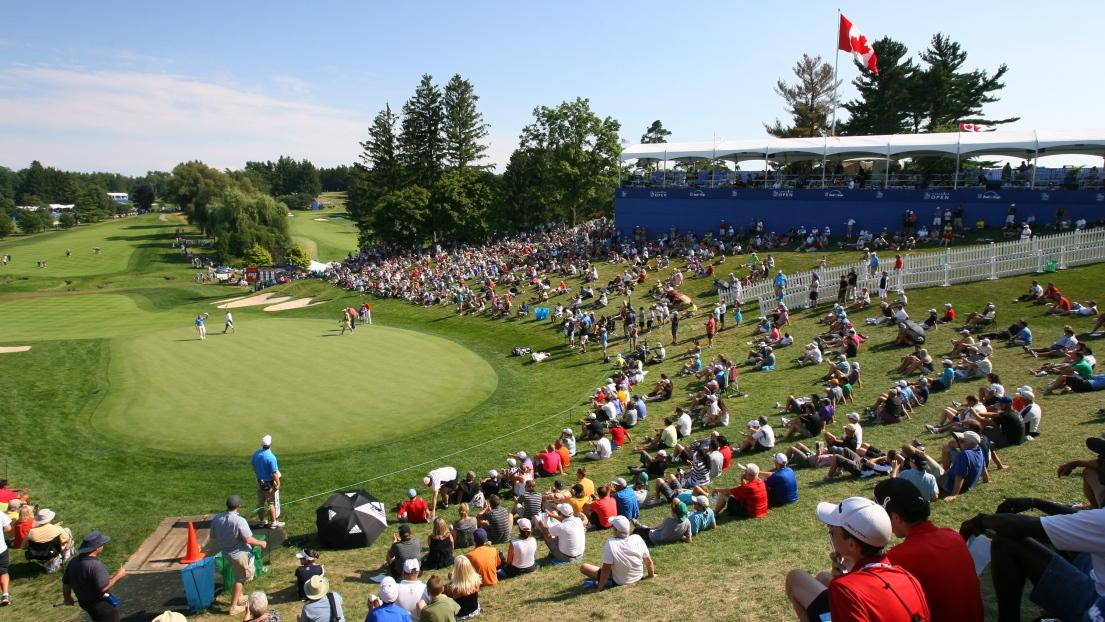 Le 18e trou du Hamilton Golf and Country Club