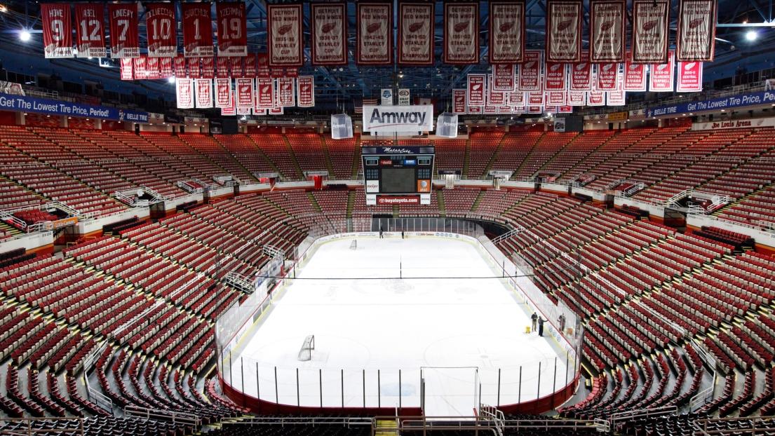 Dernier Bail Au Joe Louis Arena Pour Les Red Wings De