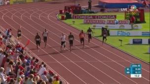 Aaron Brown termine 2e en Suède