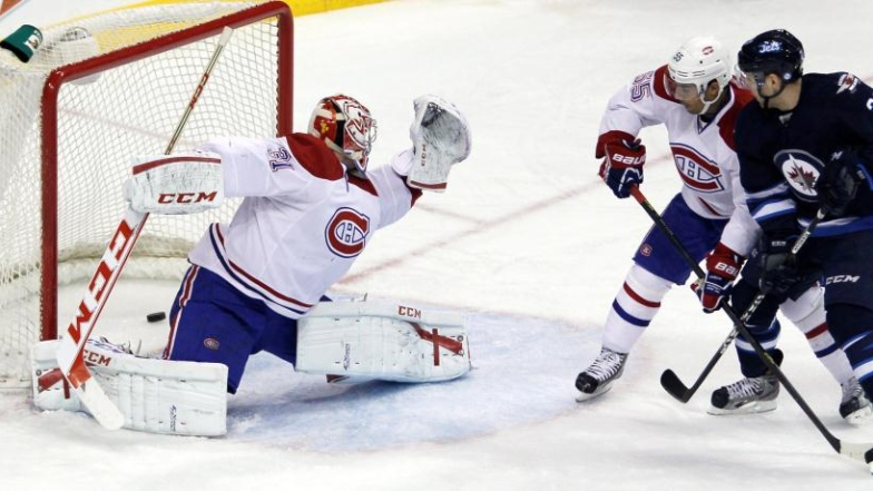 Canadiens 4 - Jets 2
