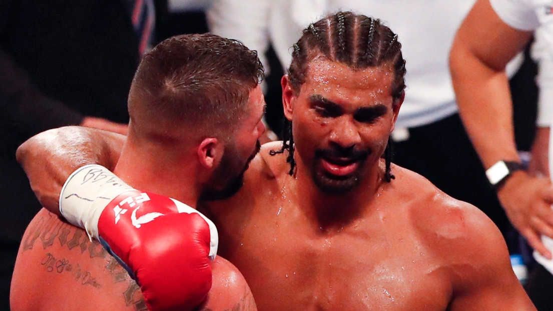 Tony Bellew et David Haye