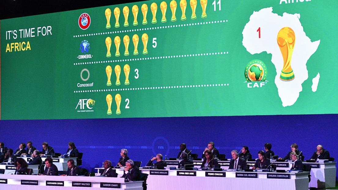 Le Maroc sera candidat à l'organisation de la Coupe du monde 2030