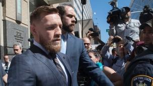 McGregor regrette ses gestes