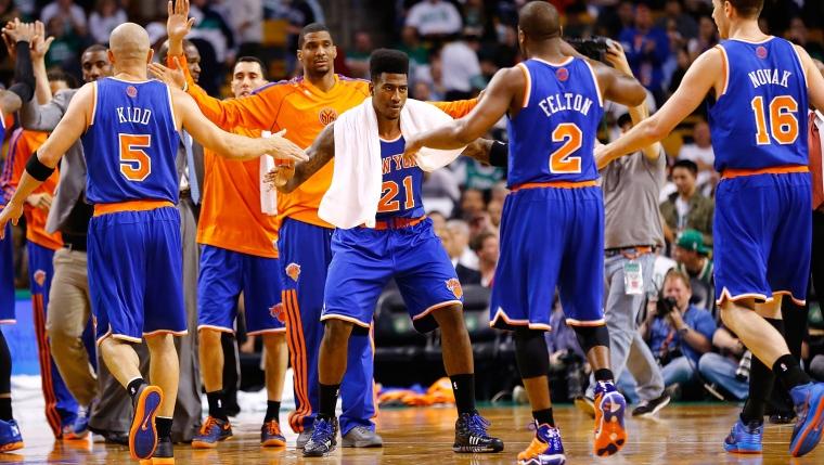 Les Knicks célèbrent