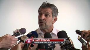 Résumé des propos de Marc Bergevin