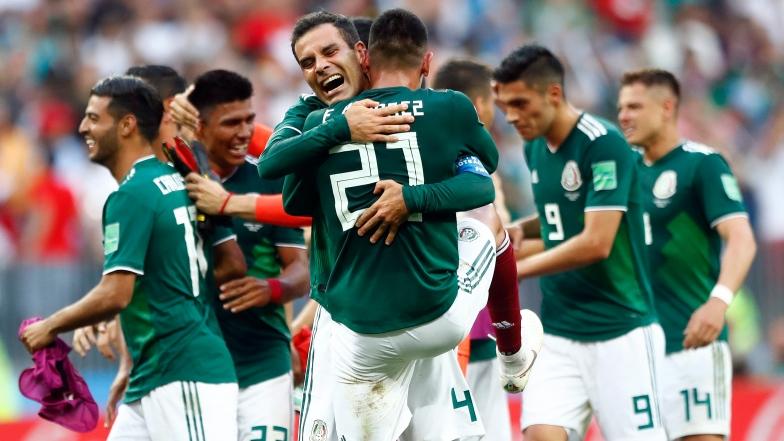 Les Mexicains ont causé toute une surprise en battant l'Allemagne
