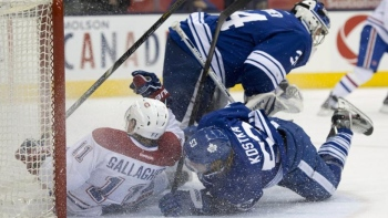 En son et images : Canadiens-Maple Leafs