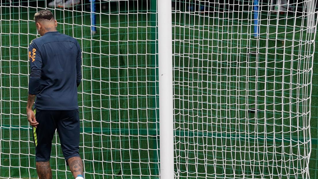 Alerte pour Neymar, qui a quitté l'entraînement — Brésil