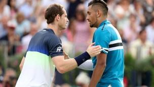 Nick Kyrgios gâche le retour d'Andy Murray