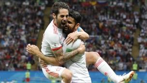 Iran 0 - Espagne 1