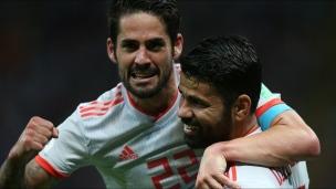 En son et images : Iran c. Espagne