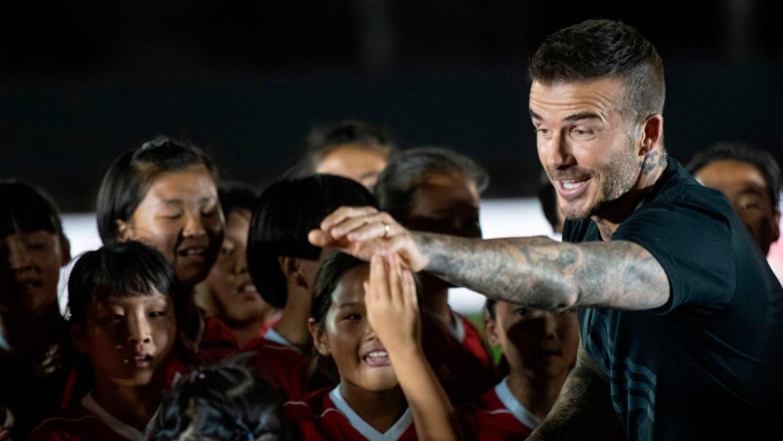 Mondial-2018: Beckham voit une finale Argentine-Angleterre