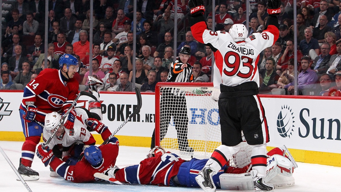 Carey Price accorde un but