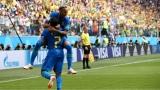 Neymar et Diego Costa