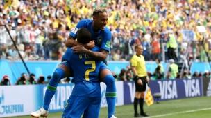 En son et images : Brésil contre Costa Rica