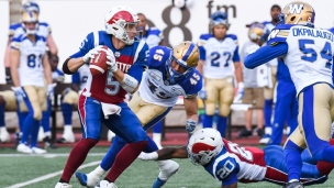 Blue Bombers 56 - Alouettes 10