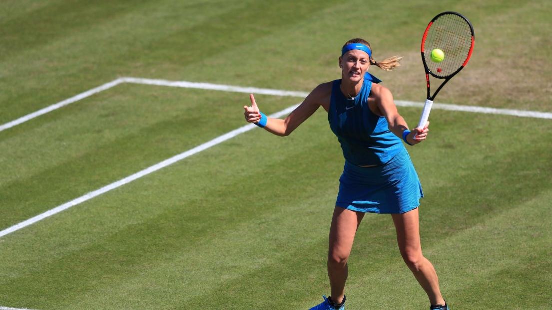 WTA-Birmingham: Kvitova élimine Daria Gavrilova et se qualifie pour les quarts